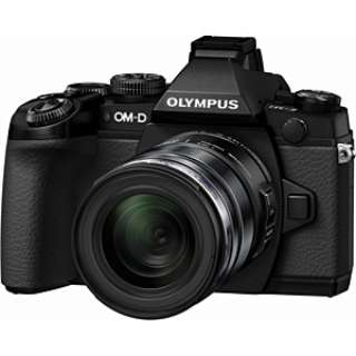 OM-D E-M1 ミラーレス一眼カメラ 12-50mm EZ レンズキット ブラック [ズームレンズ]