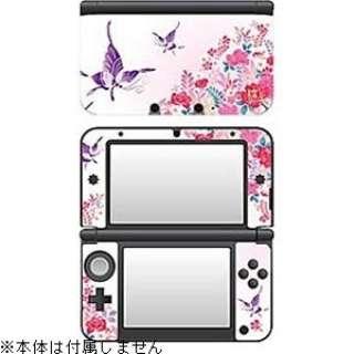 彩装飾シート 花蝶爛漫【3DS LL】