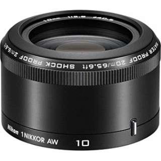 カメラレンズ 1 NIKKOR AW 10mm f/2.8 NIKKOR(ニッコール) ブラック [ニコン 1 /単焦点レンズ]
