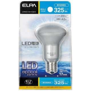 LDR4D-H-E17-G610 LED電球 ミニレフ形 LEDエルパボール ホワイト [E17 /昼光色 /1個 /レフランプ形]