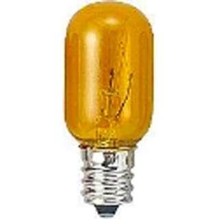 T201205CY 電球 クリアイエロー [E12 /黄色 /1個 /ナツメ球形]