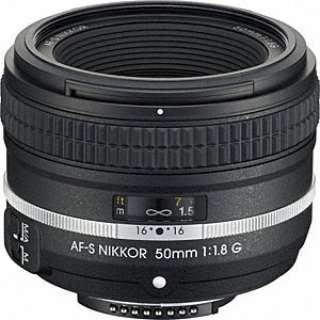 カメラレンズ AF-S NIKKOR 50mm f/1.8G(Special Edition) NIKKOR(ニッコール) ブラック [ニコンF /単焦点レンズ]