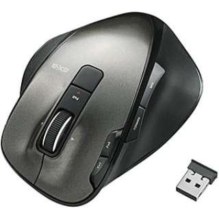 M-XG3DLBK ゲーミングマウス EX-G ブラック  [レーザー /8ボタン /USB /無線(ワイヤレス)]