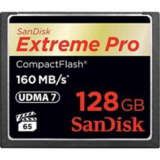 128GBコンパクトフラッシュExtremePROSDCFXPS-128G-J92