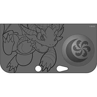パズドラZ・ソフトジャケット キングメタルドラゴン・ブラック【3DS LL】