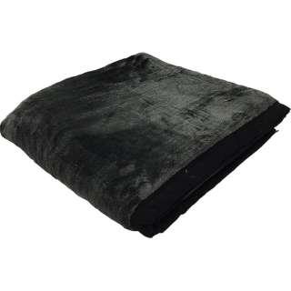 新合繊ニューマイヤー毛布(シングルサイズ/140×200cm/ブラック)