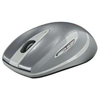 M545SV マウス Wireless Mouse m545 シルバー  [レーザー /7ボタン /USB /無線(ワイヤレス)]