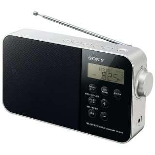 ホームラジオ ブラック ICF-M780N [AM/FM/短波 /ワイドFM対応]