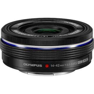 カメラレンズ ED 14-42mm F3.5-5.6 EZ M.ZUIKO DIGITAL(ズイコーデジタル) ブラック [マイクロフォーサーズ /ズームレンズ]
