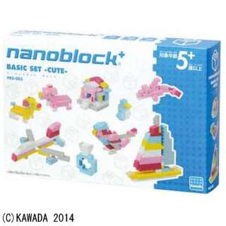 PBS-003 nanoblock+ BASIC SET -CUTE-