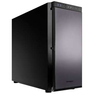 ATX/Micro ATX/Mini ITX対応ミドルタワーPCケース (電源なし・ブラック) P100