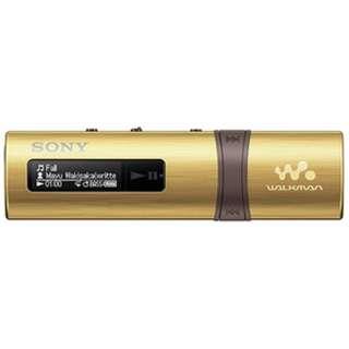 ≪海外仕様≫コンパクトサイズウォークマン NWZB183FNCE ゴールド