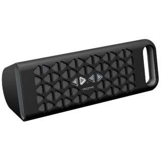 ブルートゥーススピーカー SP-MV10-BK ブラック [Bluetooth対応]