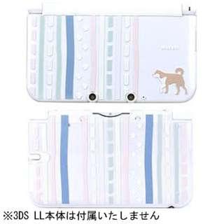 和彩美-WaSaBi- 3DS LL用 堅装飾カバー透 take【3DS LL】