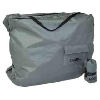 折りたたみ自転車用 輪行袋 ちび輪バッグ CHIBIRIN BAG(650×600~850×350mm/グレー/390gまで)