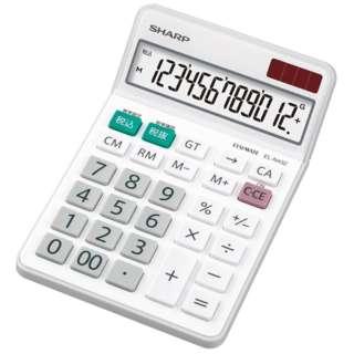電卓 ナイスサイズタイプ EL-N431-X [10桁]