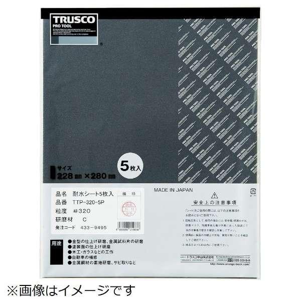 耐水ペーパー 228X280 #2000 5枚入 TTP20005P