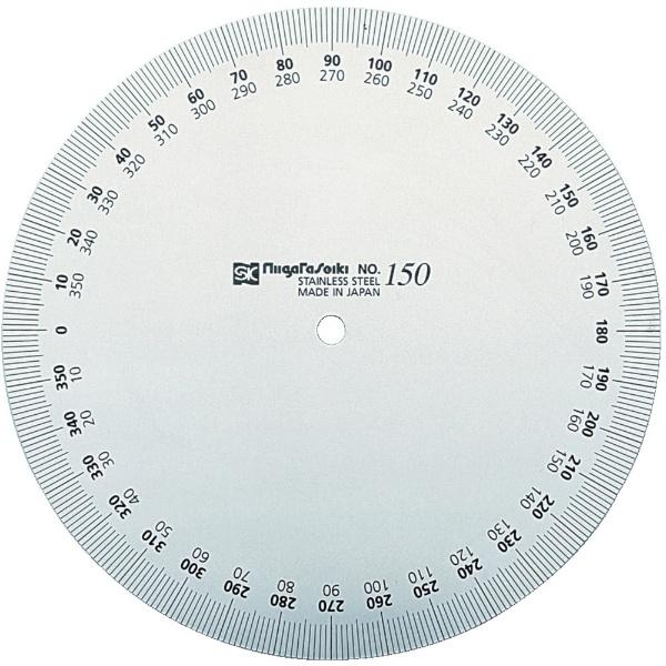 新潟精機 SK プロトラクタ No.193-120 ステンレス仕上 PRT193-120