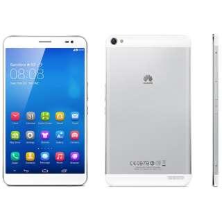 【LTE対応】MediapadX1LTE ホワイト [7D-504L] microSIM 2014年モデル Android 4.2  SIMフリータブレット 7D-504L スノーホワイト [7型 /ストレージ:16GB /SIMフリーモデル]