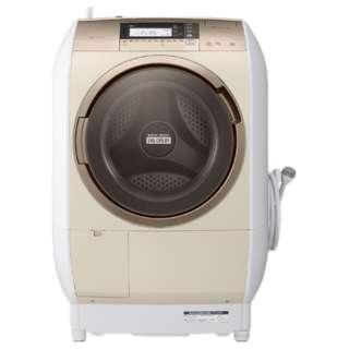 BD-V9700L-N ドラム式洗濯乾燥機 ビッグドラム シャンパン [洗濯10.0kg /乾燥6.0kg /ヒーター乾燥 /左開き]