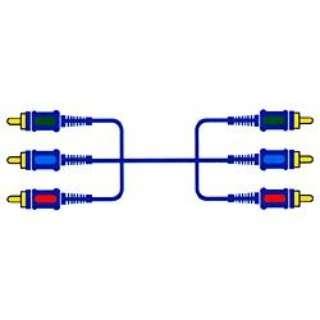 1.5mコンポーネントケーブル(コンポーネント⇔コンポーネント)VX-D115E