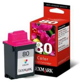 12A1980A 純正プリンターインク 80 カラー
