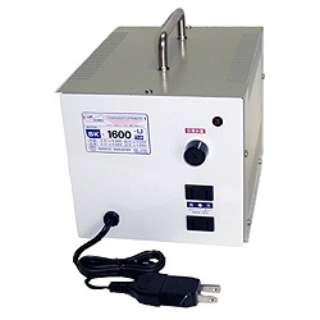 変圧器 (アップダウントランス) 「トランスフォーマ SKシリーズ」(120V⇔100V・容量1600W) SK-1600U