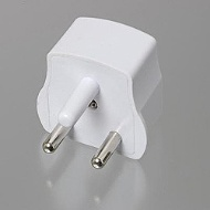 Conversion plug (B3 type) HP7-WH for overseas travel