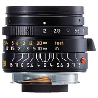 カメラレンズ M F2/28mm ASPH. SUMMICRON(ズミクロン) ブラック 11604C [ライカM /単焦点レンズ]