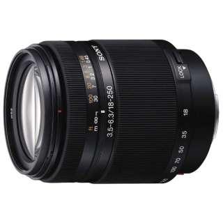 カメラレンズ DT 18-250mm F3.5-6.3  APS-C用 ブラック SAL18250 [ソニーA(α) /ズームレンズ]