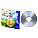 データ用CD-RW MQシリーズ CDRW80MQ.S1P5S [5枚 /700MB]