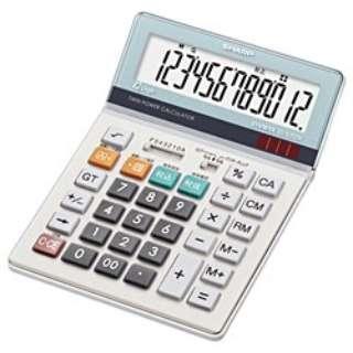 セミデスクタイプ電卓 EL-S752K-X [12桁]