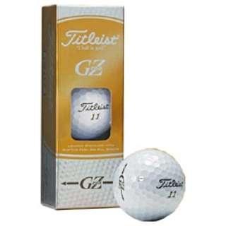 【スリーブ単位販売になります】ゴルフボール グランゼ・プレミアム 《1スリーブ(3球)/ゴールドパール》1ZGPJ-3P 【オウンネーム非対応】