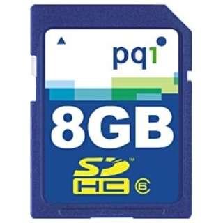 SDHCカード QSDH6-8G [8GB /Class6]