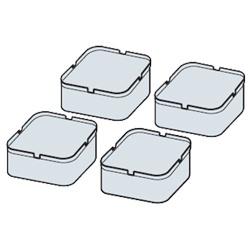 日立 据付脚 (4個入) GO-BD2 洗濯機・乾燥機