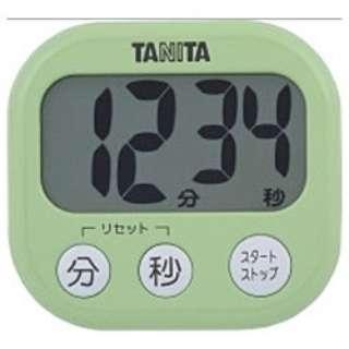 デジタルタイマー でか見えタイマー  TD-384-GR ピスタチオグリーン
