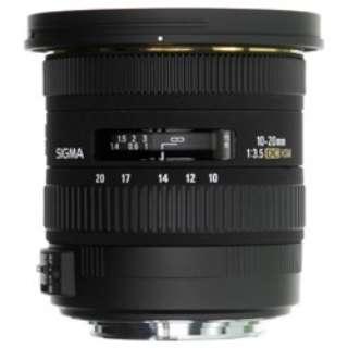 カメラレンズ 10-20mm F3.5 EX DC HSM APS-C用 ブラック [シグマ /ズームレンズ]