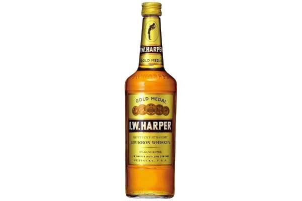 バーボンのおすすめ24選 「I.W.ハーパー ゴールドメダル」(度数:40度)