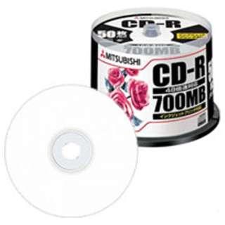 SR80PP50 データ用CD-R [50枚 /700MB /インクジェットプリンター対応]
