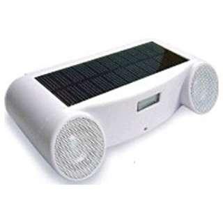 SSW-111 アクティブスピーカー SOLAR SOUND ホワイト