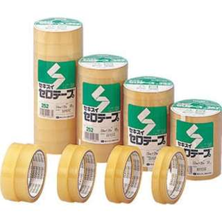セキスイセロテープ No.252 15mm×35m・10巻入