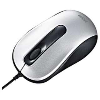 MA-116HS マウス シルバー  [光学式 /3ボタン /USB /有線]