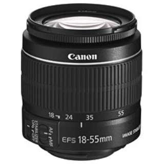 カメラレンズ EF-S18-55mm F3.5-5.6 IS II APS-C用 ブラック [キヤノンEF /ズームレンズ]