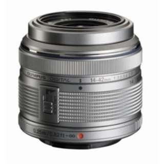 カメラレンズ 14-42mm F3.5-5.6IIR M.ZUIKO DIGITAL(ズイコーデジタル) シルバー [マイクロフォーサーズ /ズームレンズ]