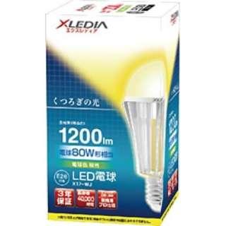 X17-WJ LED電球 XLEDIA [E26 /電球色 /1個 /180W相当 /一般電球形]