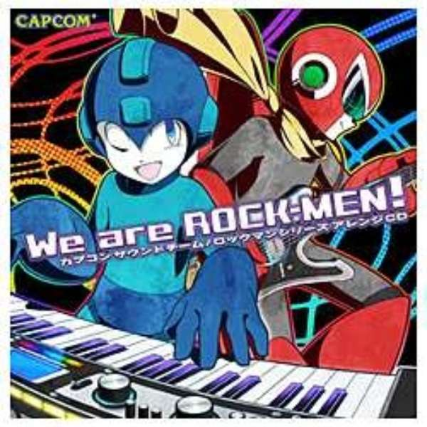 ROCK-MEN/We are ROCK-MEN! 【音楽CD】