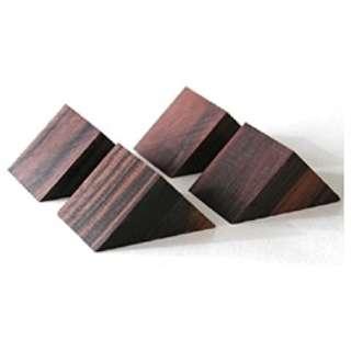黒檀製三角ベース (4個1組) PB-22