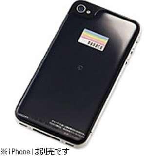 iPhone 4S/4用 nanaco用電子マネーシール SoftBank SELECTION SB-IA06-PSNA