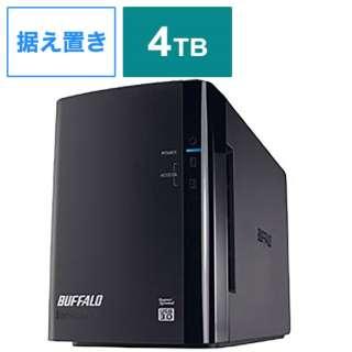 HD-WL4TU3/R1J 外付けHDD ブラック [4TB /据え置き型]