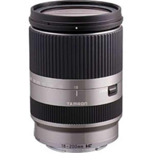 カメラレンズ 18-200mm F/3.5-6.3 Di III VC B011  APS-C用 シルバー B001 [ソニーE /ズームレンズ]